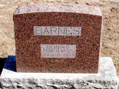 BARNES, ELBERT - Carroll County, Arkansas | ELBERT BARNES - Arkansas Gravestone Photos