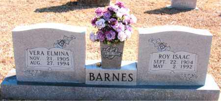 BARNES, VERA ELMINA - Carroll County, Arkansas | VERA ELMINA BARNES - Arkansas Gravestone Photos