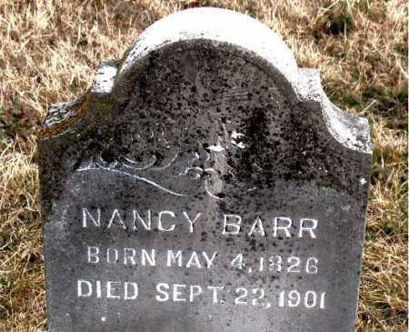 BARR, NANCY - Carroll County, Arkansas | NANCY BARR - Arkansas Gravestone Photos
