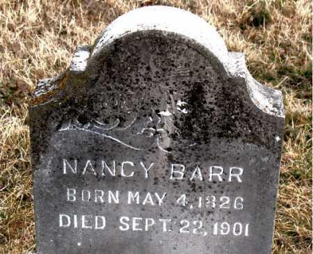 BARR, NANCY - Carroll County, Arkansas   NANCY BARR - Arkansas Gravestone Photos