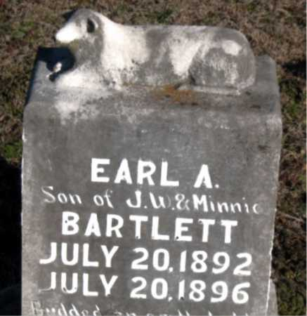 BARTLETT, EARL A. - Carroll County, Arkansas | EARL A. BARTLETT - Arkansas Gravestone Photos