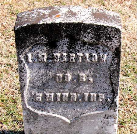 BARTLOW (VETERAN UNION), LUTHER M. - Carroll County, Arkansas | LUTHER M. BARTLOW (VETERAN UNION) - Arkansas Gravestone Photos