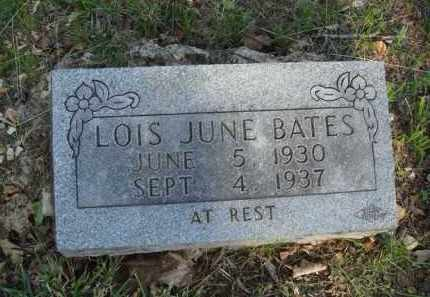 BATES, LOIS JUNE - Carroll County, Arkansas | LOIS JUNE BATES - Arkansas Gravestone Photos