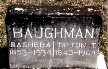 BAUGHMAN, TIPTON T. - Carroll County, Arkansas | TIPTON T. BAUGHMAN - Arkansas Gravestone Photos