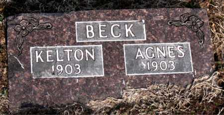 BECK, AGNES - Carroll County, Arkansas | AGNES BECK - Arkansas Gravestone Photos