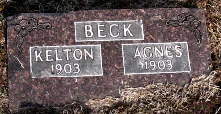 BECK, AGNES - Carroll County, Arkansas | AGNES BECK - Arkansas Gravestone Photos