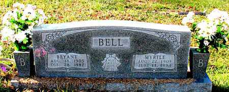 BELL, MYRTLE - Carroll County, Arkansas | MYRTLE BELL - Arkansas Gravestone Photos