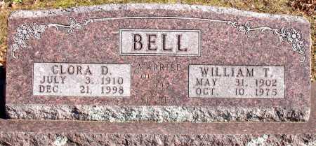 BELL, CLORA D. - Carroll County, Arkansas | CLORA D. BELL - Arkansas Gravestone Photos