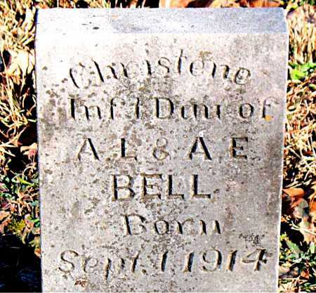 BELL, CHRISTENE - Carroll County, Arkansas | CHRISTENE BELL - Arkansas Gravestone Photos