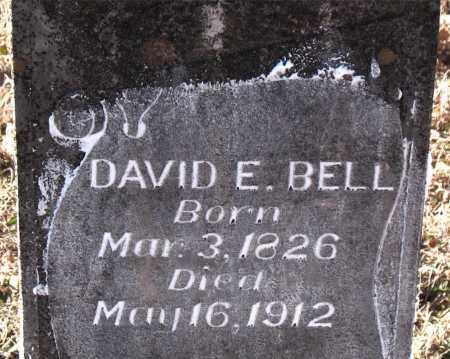 BELL, DAVID E. - Carroll County, Arkansas | DAVID E. BELL - Arkansas Gravestone Photos