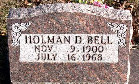 BELL, HOLMAN D. - Carroll County, Arkansas | HOLMAN D. BELL - Arkansas Gravestone Photos