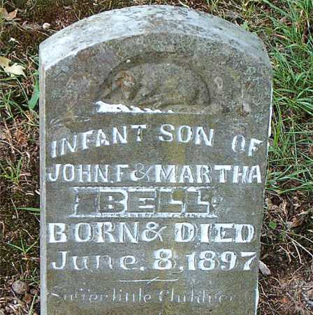BELL, INFANT  SON - Carroll County, Arkansas | INFANT  SON BELL - Arkansas Gravestone Photos