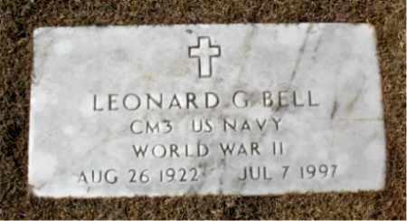 BELL (VETERAN WWII), LEONARD G. - Carroll County, Arkansas | LEONARD G. BELL (VETERAN WWII) - Arkansas Gravestone Photos