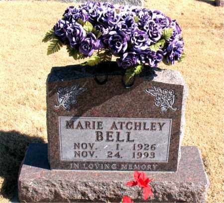 ATCHLEY BELL, MARIE - Carroll County, Arkansas | MARIE ATCHLEY BELL - Arkansas Gravestone Photos
