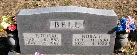 BELL, NORA E. - Carroll County, Arkansas | NORA E. BELL - Arkansas Gravestone Photos