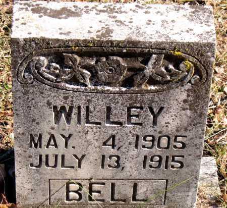BELL, WILLEY - Carroll County, Arkansas | WILLEY BELL - Arkansas Gravestone Photos