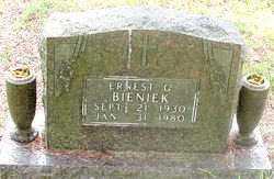 BIENICK, ERNEST C. - Carroll County, Arkansas   ERNEST C. BIENICK - Arkansas Gravestone Photos