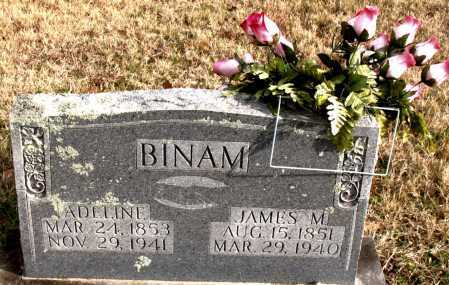 BINAM, ADELINE - Carroll County, Arkansas | ADELINE BINAM - Arkansas Gravestone Photos