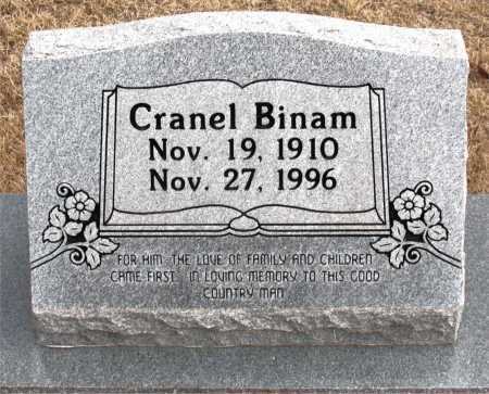BINAM, CRANEL - Carroll County, Arkansas | CRANEL BINAM - Arkansas Gravestone Photos