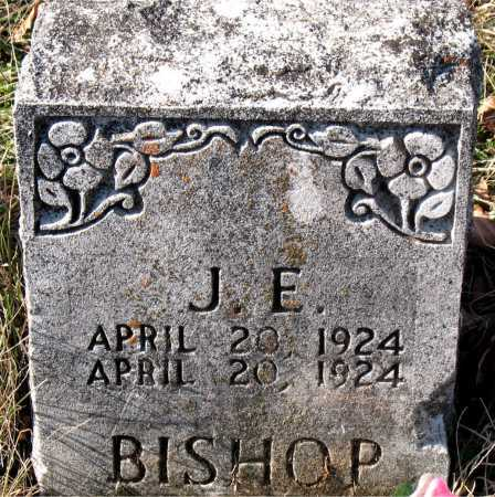 BISHOP, J. E. - Carroll County, Arkansas | J. E. BISHOP - Arkansas Gravestone Photos