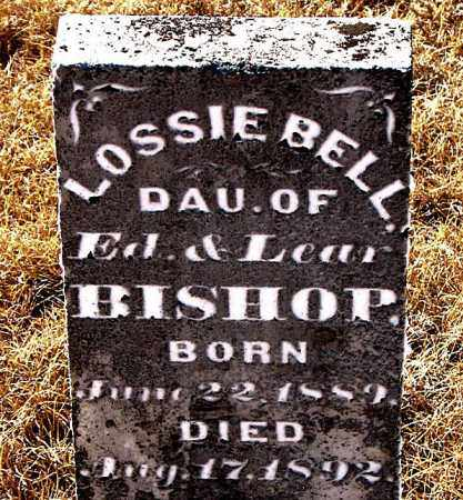 BISHOP, LOSSIE BELL - Carroll County, Arkansas | LOSSIE BELL BISHOP - Arkansas Gravestone Photos