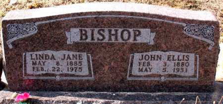 BISHOP, JOHN ELLIS - Carroll County, Arkansas | JOHN ELLIS BISHOP - Arkansas Gravestone Photos