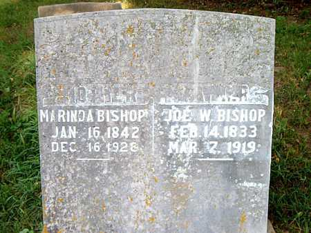 BISHOP, JOE  W. - Carroll County, Arkansas | JOE  W. BISHOP - Arkansas Gravestone Photos