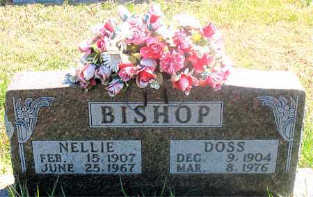 BISHOP, NELLIE - Carroll County, Arkansas | NELLIE BISHOP - Arkansas Gravestone Photos