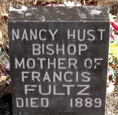 BISHOP, NANCY HUST - Carroll County, Arkansas | NANCY HUST BISHOP - Arkansas Gravestone Photos