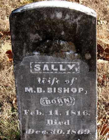 BISHOP, SALLY - Carroll County, Arkansas | SALLY BISHOP - Arkansas Gravestone Photos