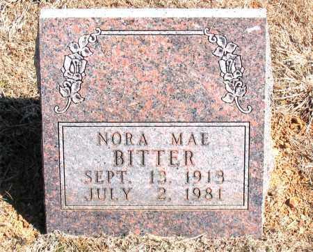 BITTER, NORA MAE - Carroll County, Arkansas | NORA MAE BITTER - Arkansas Gravestone Photos