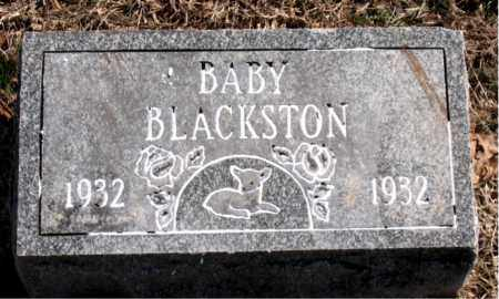 BLACKSTON, INFANT - Carroll County, Arkansas | INFANT BLACKSTON - Arkansas Gravestone Photos