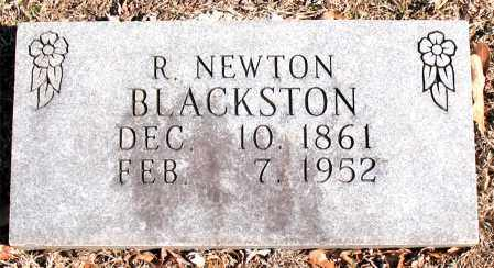 BLACKSTON, R. NEWTON - Carroll County, Arkansas | R. NEWTON BLACKSTON - Arkansas Gravestone Photos