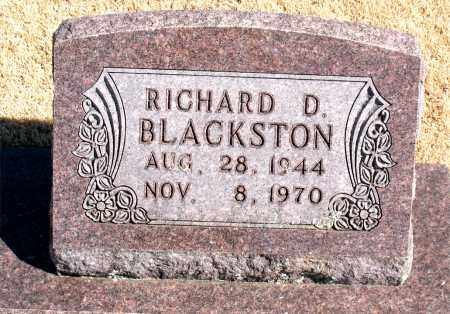 BLACKSTON, RICHARD  D. - Carroll County, Arkansas | RICHARD  D. BLACKSTON - Arkansas Gravestone Photos