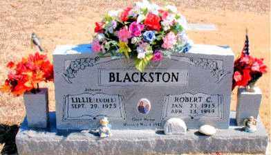 BLACKSTON, ROBERT C. - Carroll County, Arkansas | ROBERT C. BLACKSTON - Arkansas Gravestone Photos