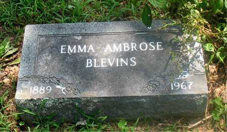 BLEVINS, EMMA - Carroll County, Arkansas | EMMA BLEVINS - Arkansas Gravestone Photos