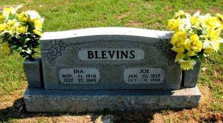 BLEVINS, INA - Carroll County, Arkansas | INA BLEVINS - Arkansas Gravestone Photos