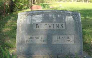 BLEVINS, MINNIE E. - Carroll County, Arkansas | MINNIE E. BLEVINS - Arkansas Gravestone Photos