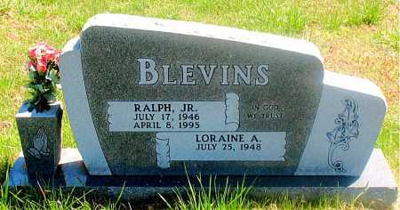 BLEVINS, RALPH JR. - Carroll County, Arkansas | RALPH JR. BLEVINS - Arkansas Gravestone Photos