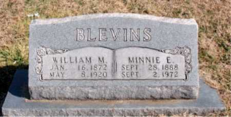 BLEVINS, MINNIE E - Carroll County, Arkansas | MINNIE E BLEVINS - Arkansas Gravestone Photos