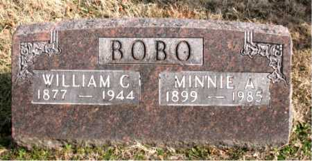 BOBO, MINNIE  A - Carroll County, Arkansas | MINNIE  A BOBO - Arkansas Gravestone Photos