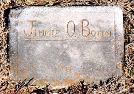 BOLIN, JIMMIE O. - Carroll County, Arkansas | JIMMIE O. BOLIN - Arkansas Gravestone Photos