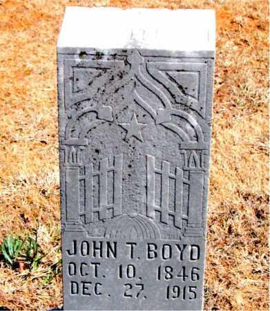 BOYD, JOHN T. - Carroll County, Arkansas | JOHN T. BOYD - Arkansas Gravestone Photos
