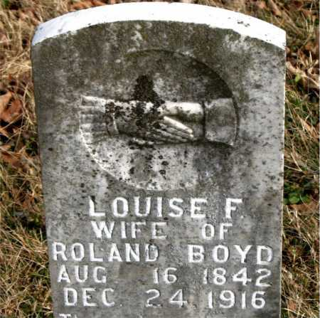 BOYD, LOUISE F. - Carroll County, Arkansas | LOUISE F. BOYD - Arkansas Gravestone Photos