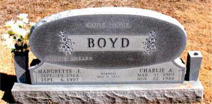 BOYD, CHARLIE  A. - Carroll County, Arkansas | CHARLIE  A. BOYD - Arkansas Gravestone Photos