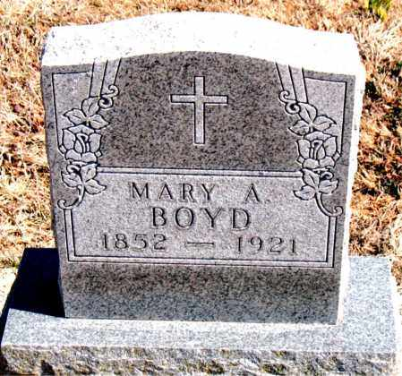 BOYD, MARY A. - Carroll County, Arkansas | MARY A. BOYD - Arkansas Gravestone Photos