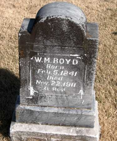 BOYD, W M - Carroll County, Arkansas | W M BOYD - Arkansas Gravestone Photos