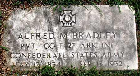BRADLEY (VETERAN CSA), ALFRED M - Carroll County, Arkansas | ALFRED M BRADLEY (VETERAN CSA) - Arkansas Gravestone Photos