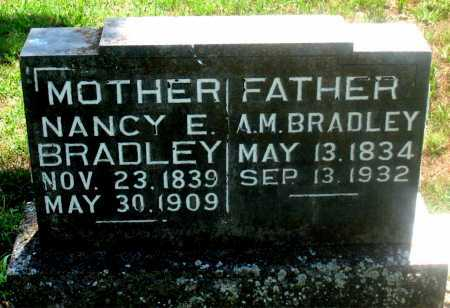 BRADLEY, ALFRED MACK - Carroll County, Arkansas | ALFRED MACK BRADLEY - Arkansas Gravestone Photos