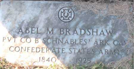 BRADSHAW (VETERAN CSA), ABEL M. - Carroll County, Arkansas | ABEL M. BRADSHAW (VETERAN CSA) - Arkansas Gravestone Photos